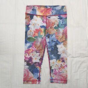 VMMA floral cropped leggings